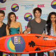 Stock Photo: Paul Wesley, NinDobrev, ISomerhalder, Kat Graham