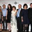Downton Abbey Cast and Execs - Lizenzfreies Foto