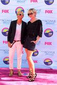 Ellen Degeneres, Portia de Rossi — Foto de Stock