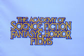 Academy of Science Fiction Fanasy and Horror FIlms — Stock Photo