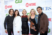 Matthew Gray Gubler, Jeanne Tripplehorn, A.J. Cook, Kirsten Vangsness, Joe Mantegna — Stock Photo