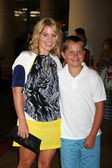 Candace Cameron Bure, son Maks — Stock Photo