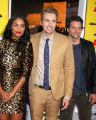 Joy Bryant, Dax Shepard, Bradley Cooper — Stock Photo
