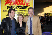 Bradley Cooper, Kristen Bell, Dax Shepard — Stock Photo