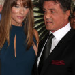 Sylvester Stallone, Jennifer Flavin — Stock Photo #12214883