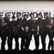 Постер, плакат: Expendables 2 Backdrop