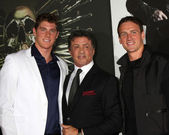 Conor Dwyer, Sylvester Stallone, Ryan Lochte — Stock Photo