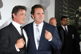 Sylvester Stallone, Frank Stallone — Stock Photo