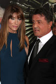 Sylvester Stallone, Jennifer Flavin — Stock Photo