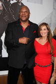 Tiny Lister & guest — Stock Photo