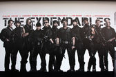 Expendables 2 Backdrop — Stock Photo