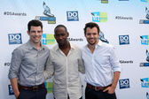 Max Greenfield, Lamorne Morris and Jake M. Johnson — Stock Photo