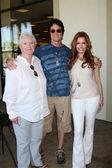 Susan Flannery, Ronn Moss, Tracey Bregman — Stock Photo