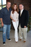 Doug Davidson, Tracey Bregman, Michael Maloney — Stock Photo
