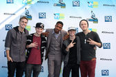 Vier graf mit nick cannon — Stockfoto