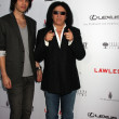 Stock Photo: Nick Simmons, Gene Simmons