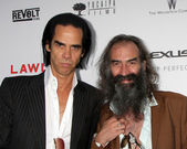 Nick Cave and Warren Ellis — Stock Photo