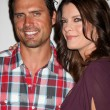 Joshua Morrow, Michelle Stafford — Foto Stock