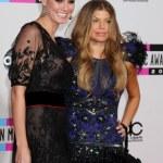 ������, ������: Heidi Klum and Fergie aka Stacey Ferguson