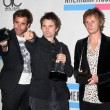 Stock Photo: Muse - Christopher Wolstenholme, Matthew Bellamy and Dominic Howard