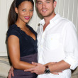 Denise Vasi and Boyfriend — Stock Photo