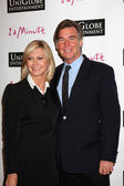 Olivia Newton-John and Husband John Easterling — Stock Photo