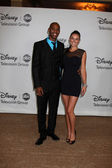 Mehcad Brooks & Guest — Stock Photo