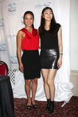 Michelle Kwan and Yuna Kim — Stock Photo