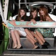 Jadin Gould, Ryan Newman and Bella Thorne — Stock Photo #12509436