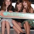 Jadin Gould, Ryan Newman and Bella Thorne — Stock Photo