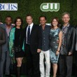 CSI: NY Cast - Aj Buckley, Hill Harper, Sela Ward, Gary Sinise, Carmine Giovinazzo, Anna Belknap, Robert Joy and Eddie Cahill — Stock Photo #12511558