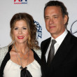 Rita Wilson and Tom Hanks — Stock Photo