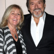 Stock Photo: Joe Mascolo and wife PatriciSchultz