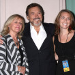 Stock Photo: Joe Mascolo, wife PatriciSchultz and Guest