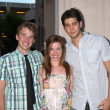 Stock Photo: Chandler Massey, Molly Burnett and Casey Deidrick