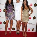 Kim Kardashian, Kris Jenner and Kourtney Kardashian — Stock Photo