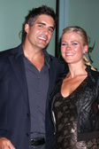 Galen Gering and Alison Sweeney — Stock Photo