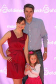 Kellie Martin & Family — Stock Photo