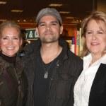 Melissa Rivers, Eddie Campbell, Sheri Anderson — Stock Photo