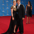 Stephen Moyer and wife Anna Paquin - Stock Photo