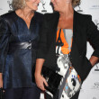 Glenn Close and daughter Annie Stark - Stock Photo