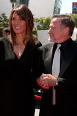 Susan Schneider and Robin WIlliams — Stockfoto
