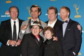 Ed O'Neill, Ty Burrell, Eric Stonestreet, Jesse Tyler Ferguson, Rico Rodriguez and Nathan Gould — Stock Photo