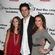 Haley Pullos, Ronnie Marmo, Lexi Ainsworth — Stock Photo