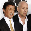 Sylvester Stallone and Bruce Willis — Stock Photo #12531185