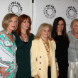 Jamie Rose, Susan Sullivan, Margaret Ladd, Ana Alicia and Abby Dalton - Stock Photo