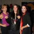 Forbes Riley, Stepfanie Kramer and daughter Lily — ストック写真