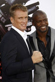 Dolph Lundgren and Terry Crews — Stock Photo