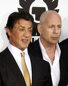 Sylvester Stallone and Bruce Willis — Stock Photo