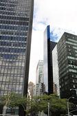 Skyscrappers em nova york — Foto Stock